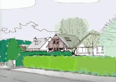 Hyland House _ Sketch